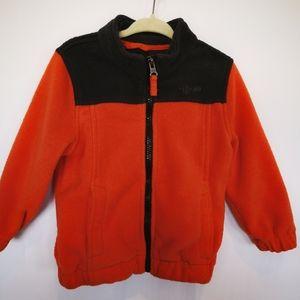 🍁 Fleece Full Zip Sweater; 24 Months